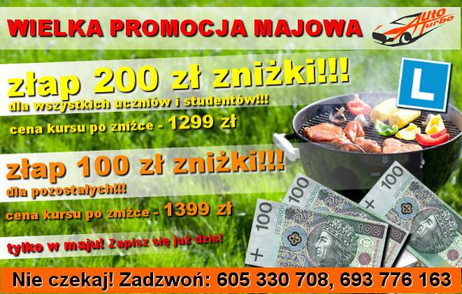 OSK-AUTO-TURBO-wielka-promocja-majowa-dla-wszystkich-uczniow-i-studentow-200-zl-znizki