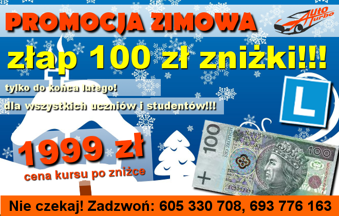 OSK-AUTO-TURBO-promocja-zimowa-dla-wszystkich-uczniow-i-studentow-100-zl-znizki